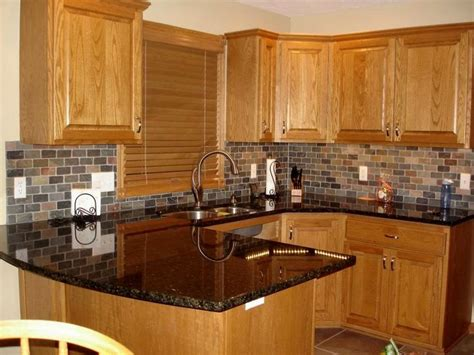 Best Color Countertop For Oak Cabinets by Best 25 Honey Oak Cabinets Ideas On