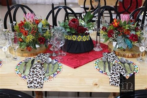 South African Traditional Wedding Decor Ideas   Flisol Home