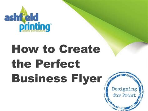 flyer design how to how to create the perfect business flyer