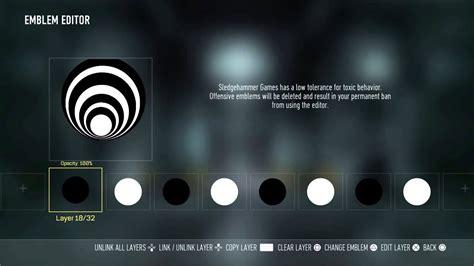 tutorial logo lg cod aw emblem tutorial bassnectar logo youtube
