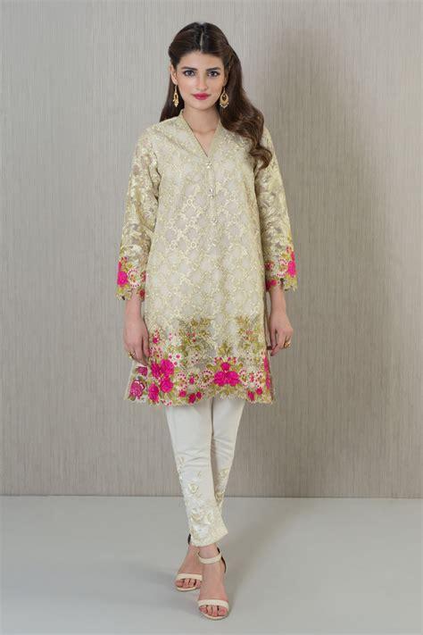 embroidery design kurta khaadi embroidered kurta semi formals khaas