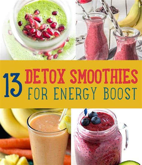 Lemon Detox And Soul by Detoxifying Energy Boosting Smoothies Smoothies