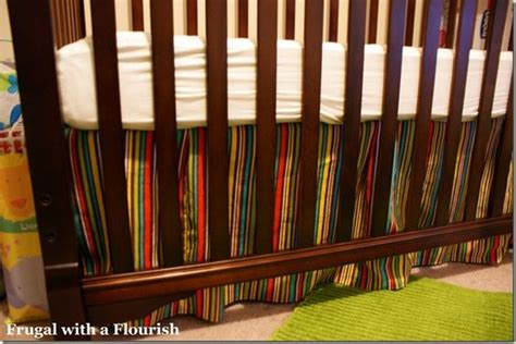 Crib Bed Skirt Pattern How To Make A Crib Bedskirt How To Make A Bedskirt Pinterest Skirt Tutorial Crib Skirt
