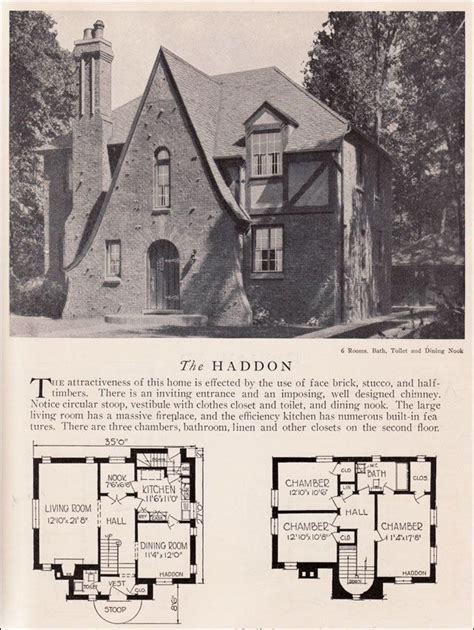 tudor house plans 1920 s 165 best storybook style homes images on pinterest