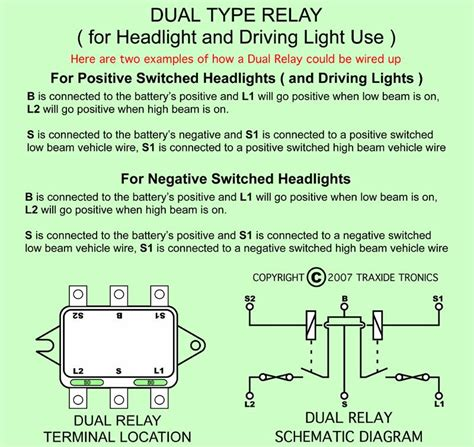 wiring diagram for headl relay k