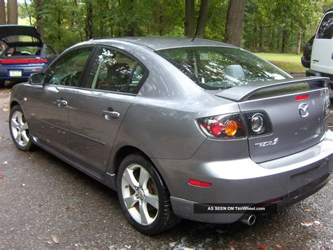 mazda 3 stick shift 2004 mazda3 gray s sport stick shift inspected needs