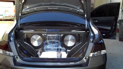 custom sound honda accord 2010 youtube