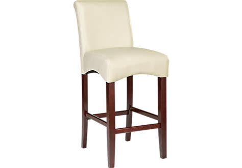 bar stools rooms to go watercolor ivory counter height stool barstools beige wood