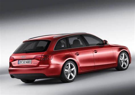 2009 audi a4 wagon 2009 audi a4 avant wagon rear view