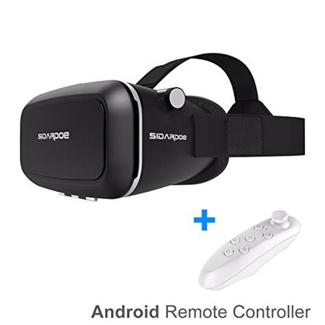 android vr headset sidardoe 3d vr goggles reality headset for iphone 6 6s plus samsung htc sony and other