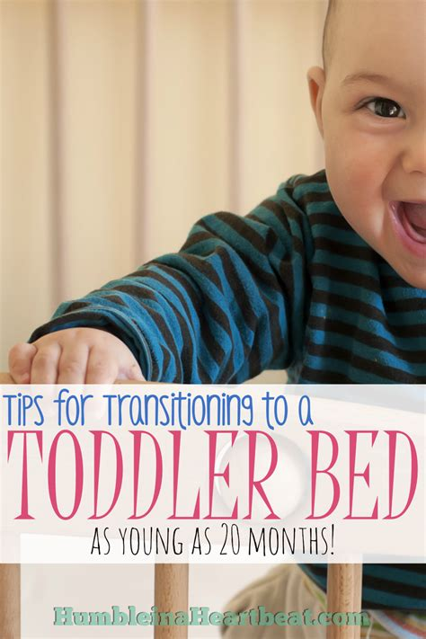 crib to bed age transitioning your child to a toddler bed humble in a