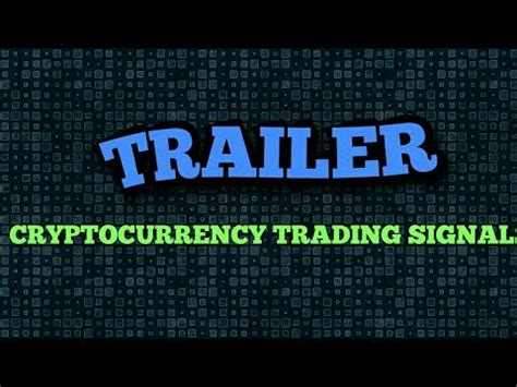 cryptocurrency trading books trailer crypto currency trading signals channel