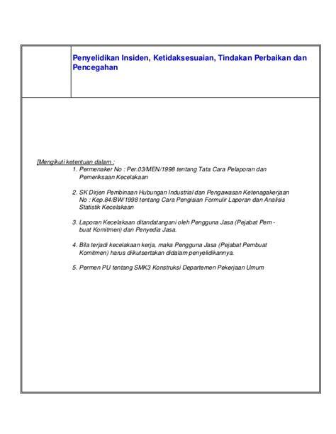 format laporan insiden contoh laporan insiden contoh kri