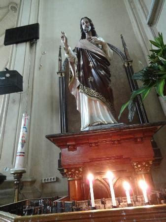 patung hati kudus yesus picture of kayutangan church malang tripadvisor