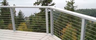 Steel Cable Handrail Stainless Steel Cable Railing Crystalite Inc