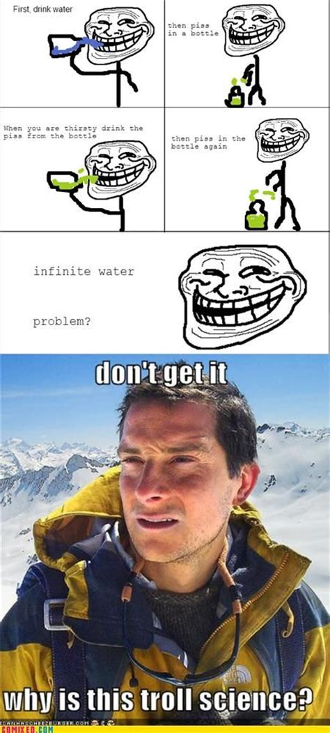 Meme Strip - image 106603 bear grylls better drink my own piss