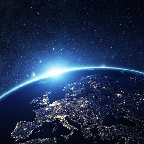 wallpaper for iphone 6 earth as24 europe earth blue space night art illustration