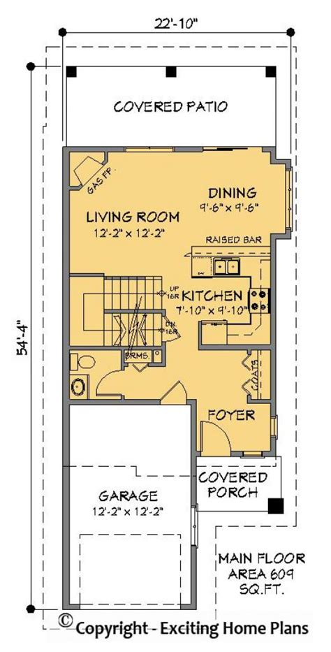 narrow lot lake house plans house plans for small lots