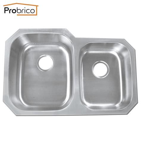 Kitchen Sinks Usa Probrico Stainless Steel Bowl Undermount Kitchen Sinks 32 Quot X20 7 8 Quot X9 Quot Ks8252albs Usa