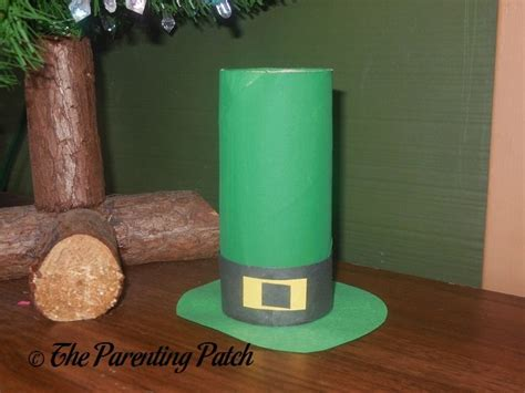 Leprechaun Toilet Paper Roll Craft - st s day craft roundup parenting patch