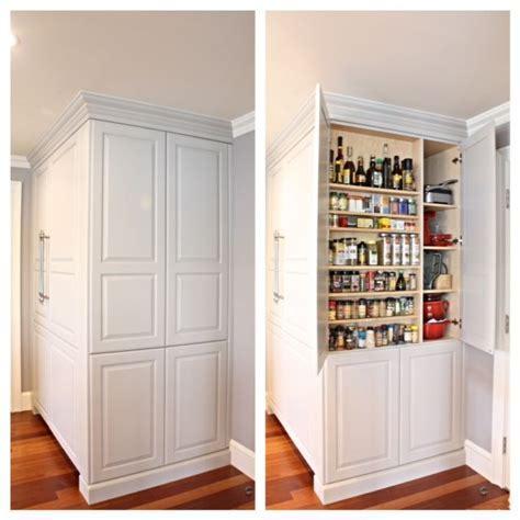 """Kitchen Pantry  Large custom pantry 12"""" deep. matching"""