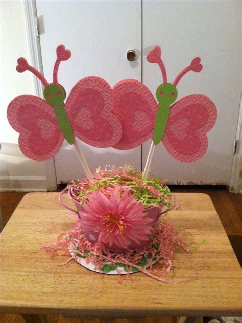 centerpieces with butterflies butterfly centerpiece baby shower ideas
