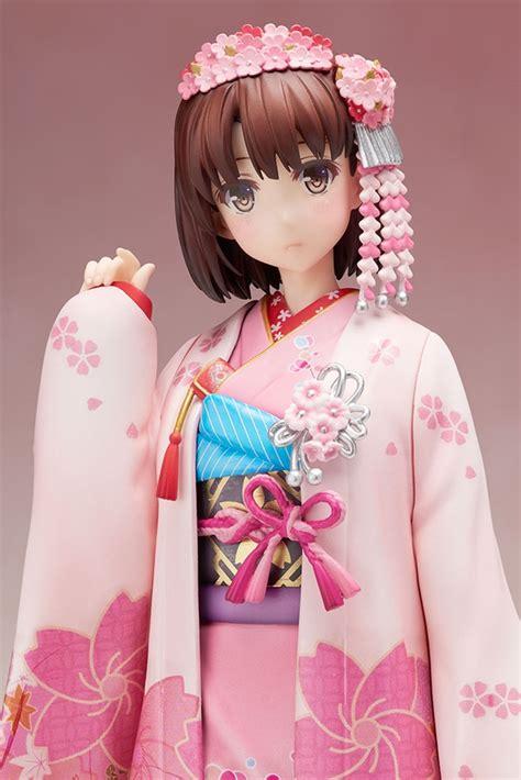 Matou Kimono Ver Pvc Anime crunchyroll aniplex displays new kimono figures of quot saekano quot megumi quot fate stay quot saber