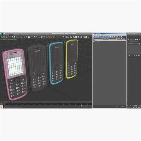 3d themes nokia 110 3d model nokia 110 set