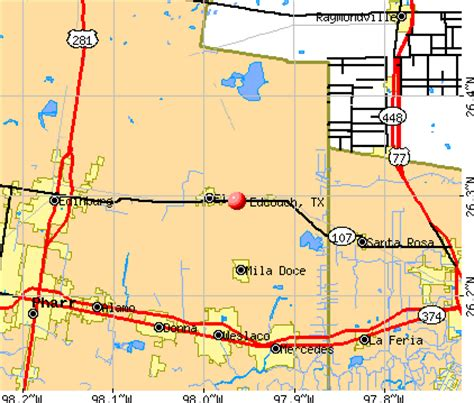 edcouch texas map map of edcouch texas pictures to pin on pinsdaddy