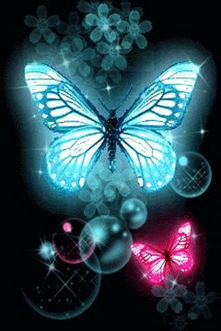 wallpapers of glitter butterflies blue pink butterfly glitter android apps games on