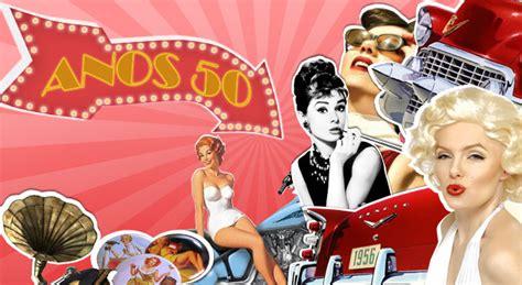 imagenes retro años 50 linha do tempo anos 50