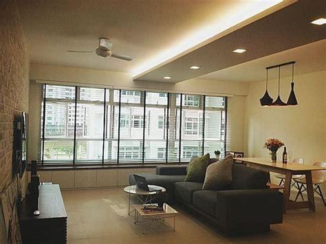 scandi inspired hdb nice liighting     flat hdbinterior false ceiling