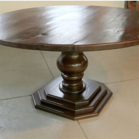 crafted 60 quot dining room table with custom