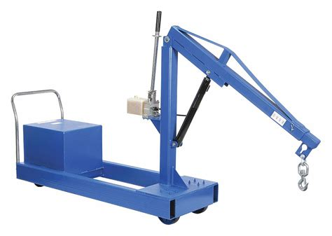 mobile floor crane catalogue vestil mobile floor crane counterbalance 2000lb 5xpg5