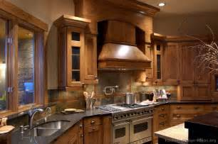 Kitchen Cabinets Design Ideas by Log Home Kitchens Pictures Amp Design Ideas