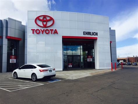 toyota dealership number ehrlich toyota 14 reviews car dealers 4732 w 26th st