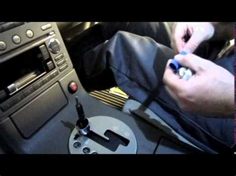 Infiniti G35 Automatic Shift Knob by 2003 Infiniti G35 Automatic Momo Billet Shift Knob Install