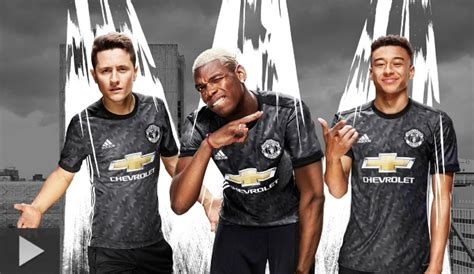 Murah Jersey Manchester United Mu Away 2017 2018 Grade Ori Manchester United Jersey 2017 2018 Home Away And Third