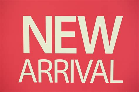 New arrival banner public domain free photos for download