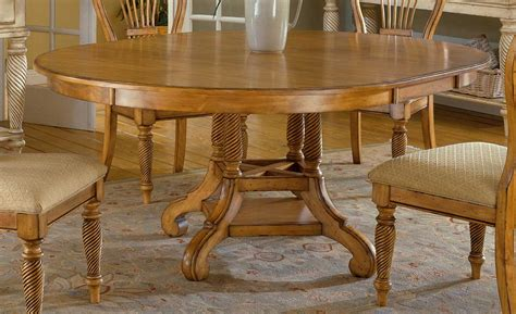 pine dining room tables hillsdale wilshire round oval dining table antique pine