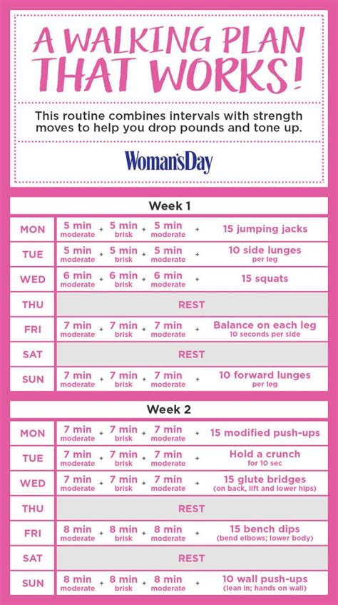 printable weight loss gym routine 25 best ideas about walking challenge on pinterest