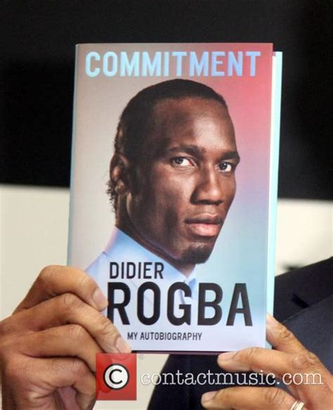 commitment my autobiography didier drogba didier drogba signs copies of his autobiography commitment 15 pictures
