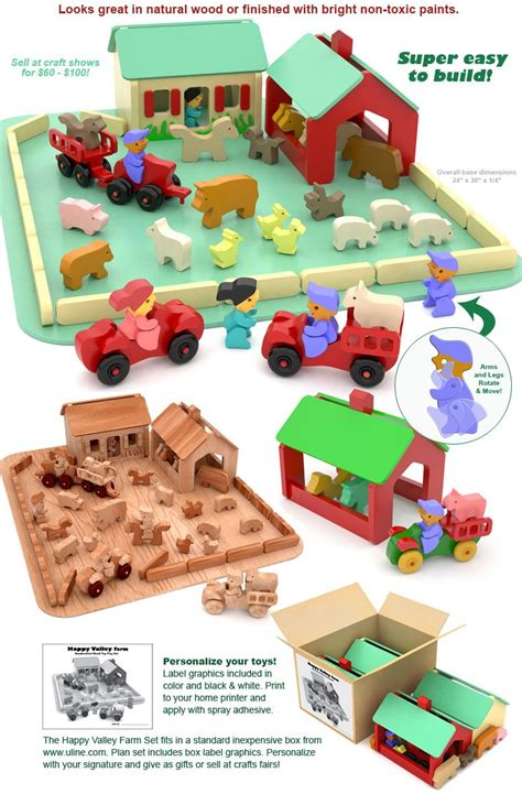 quick easy happy valley farm wood toy plans