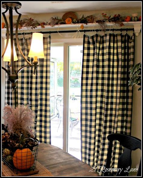 primitive curtains for french doors shelves curtains and over the on pinterest