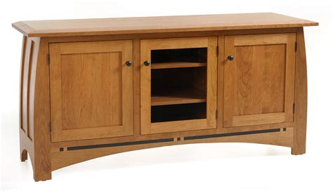 cherry wood tv stands cabinets entertainment centers 5600 olde shaker tv cabinet
