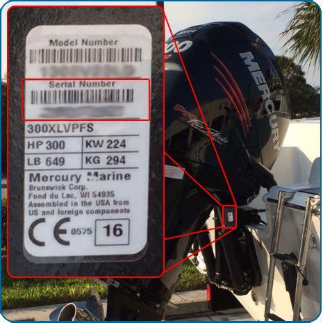 Mercury Outboard Motor Serial Number Lookup - impremedia.net