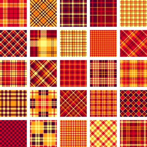 plaid pattern vector plaid fabric patterns seamless vector 09 vector pattern