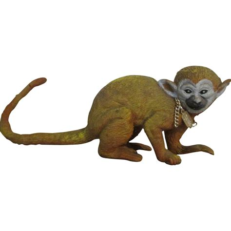 vintage monkey as a prop for your antique doll from