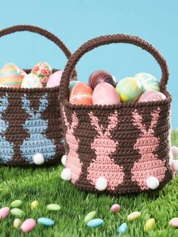 free knitted easter basket patterns the world s catalog of ideas