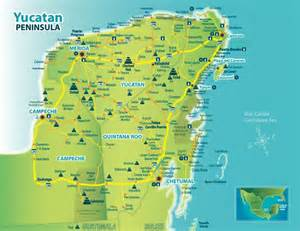 Yucatan Mexico Map by Map Of Mayan Ruins In The Yucatan Google Search Mayan